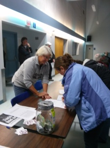 Signing petitions